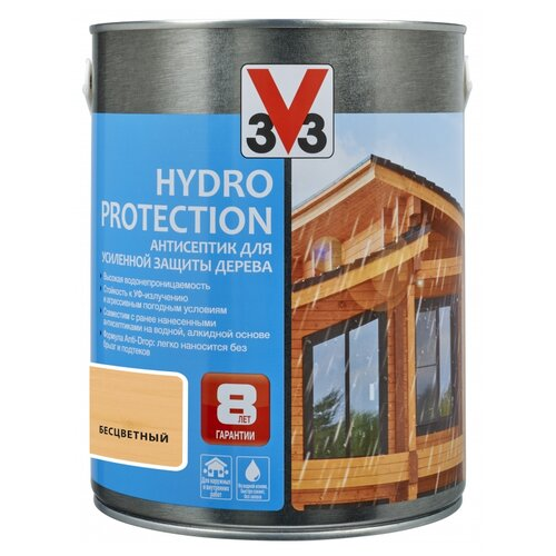 V33 Hydro Protection бесцветный 2.5 л