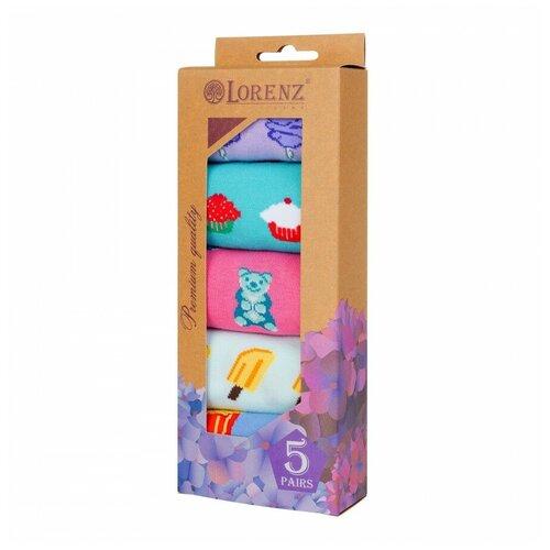 Набор женских носков Р58, размер 23(36-37)
