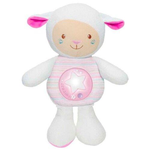 Игрушка-ночник Chicco Овечка розовая 30 см интерактивные игрушки chicco овечка lullaby музыкальная