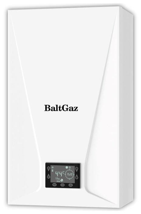 Конвекционный газовый котел BaltGaz Turbo E 24, 24 кВт, двухконтурный фото 1