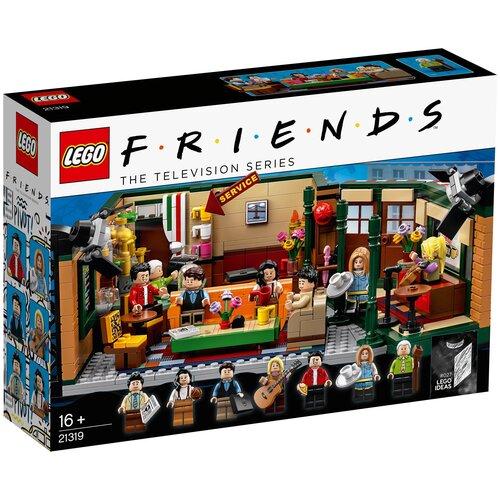 Конструктор LEGO Ideas 21319 Кафе Друзей конструктор lego city 60214 пожар в бургер кафе