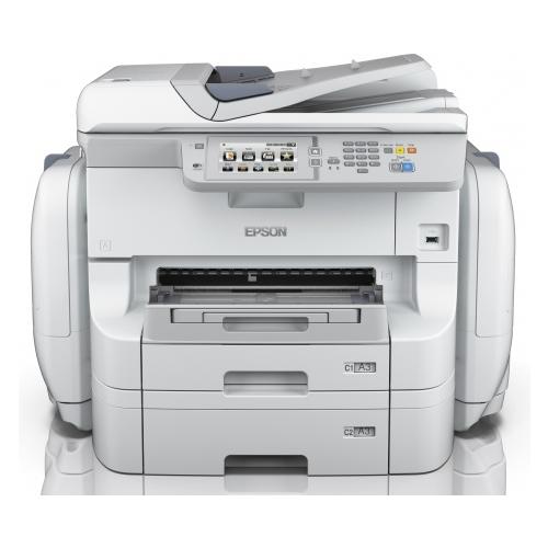 Фото - МФУ Epson WorkForce Pro WF-R8590DTWF, серый компактный фотопринтер epson workforce wf 100w