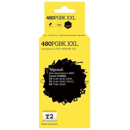 Фото - Картридж T2 IC-CPGI-480PGBK XXL, совместимый картридж t2 tc k895m совместимый