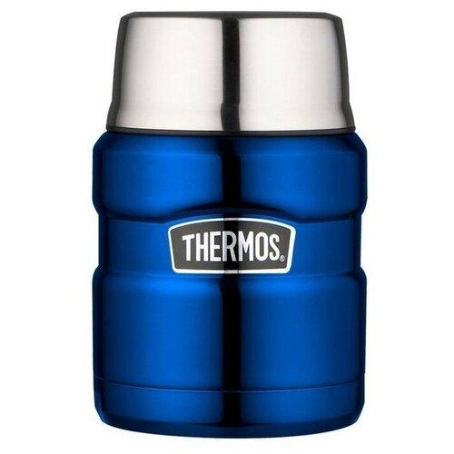 Термос для еды Thermos SK-3000, 0.47 л синий
