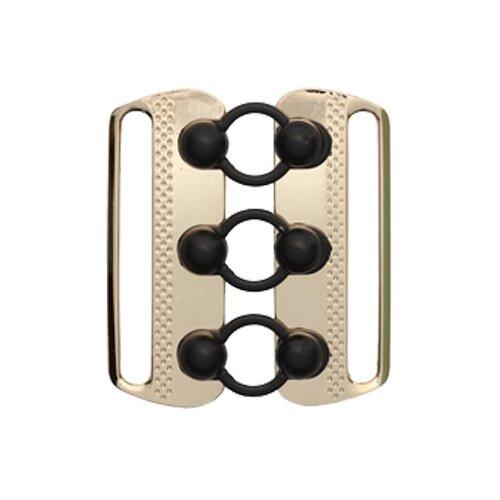 Купить Astra & Craft Пряжка для ремня 926 (7724847) 6 х 5.5 см, золотой/черный, Фурнитура