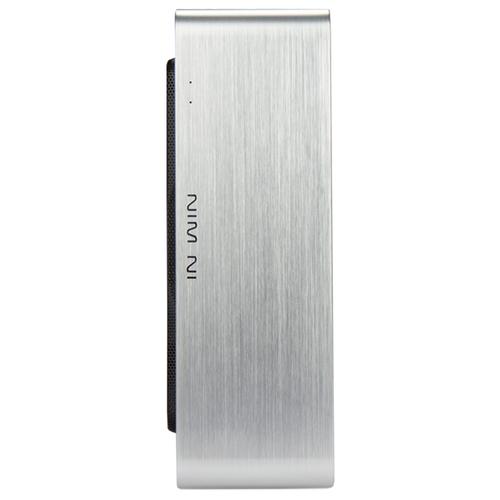 Настольный компьютер Deltacom CORP mini-ITX DCCP10108500 Micro-Tower/Intel Core i3-10100/8 ГБ/500 ГБ SSD/Intel UHD Graphics 630/DOS серебристый/черный