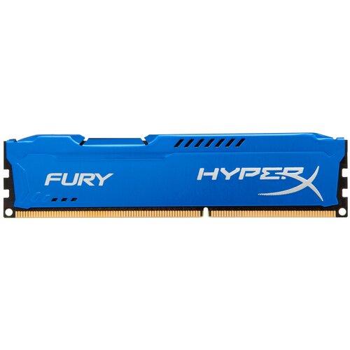 Фото - Оперативная память HyperX Fury 4GB DDR3 1600MHz DIMM 240-pin CL10 HX316C10F/4 оперативная память kingston hx313c9fw 4 hyperx fury white series dimm 4gb ddr3 1333mhz