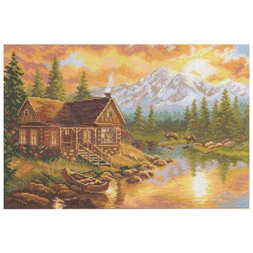 Купить 3-04 Набор для вышивания АЛИСА 'Вечер в горах' 33*24см, Алиса, Наборы для вышивания