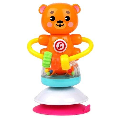 Купить Развивающая игрушка Жирафики Лучший друг. Мишка оранжевый, Развивающие игрушки