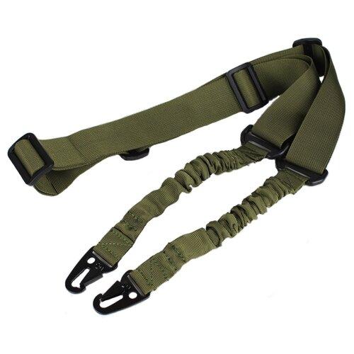 Ремень для оружия для страйкбола WoSport ремень двухточечный с карабином SL-08, олива