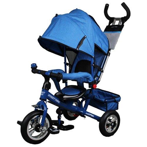 Купить Трехколесный велосипед Street trike A22-1, синий, Трехколесные велосипеды