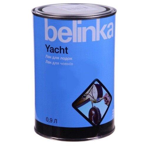 Лак яхтный Belinka Yacht полуматовый алкидно-уретановый бесцветный 0.9 л