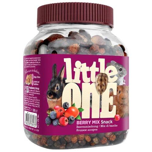 Фото - Лакомство для кроликов, грызунов Little One Snack Berry mix 200 г little one snack puffed grains лакомство для грызунов воздушные зерна 100 гр