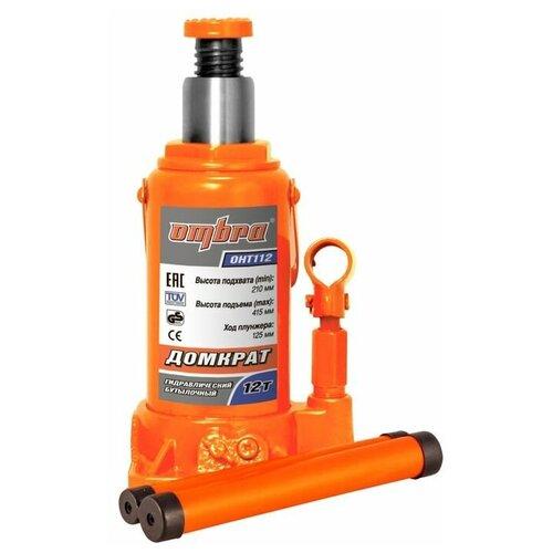 Фото - Домкрат бутылочный гидравлический Ombra OHT112 (12 т) оранжевый домкрат гидравлический ombra oht103 бутылочный 3т [55410]