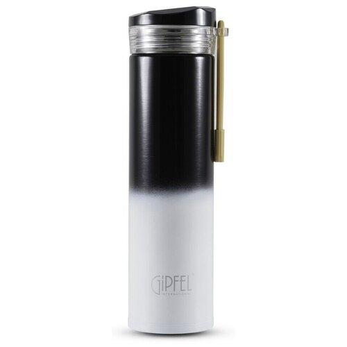 Классический термос GIPFEL Serrenity 8385, 0.35 л черный
