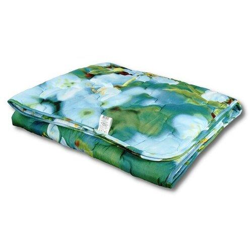 Фото - Одеяло АльВиТек Холфит-Традиция, легкое, 200 х 220 см (голубой/зеленый) одеяло альвитек эвкалипт традиция легкое 140 х 205 см голубой