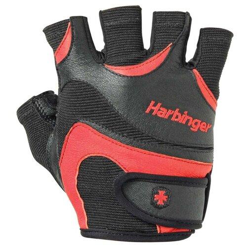 Перчатки Harbinger FlexFit, мужские, красные, размер M