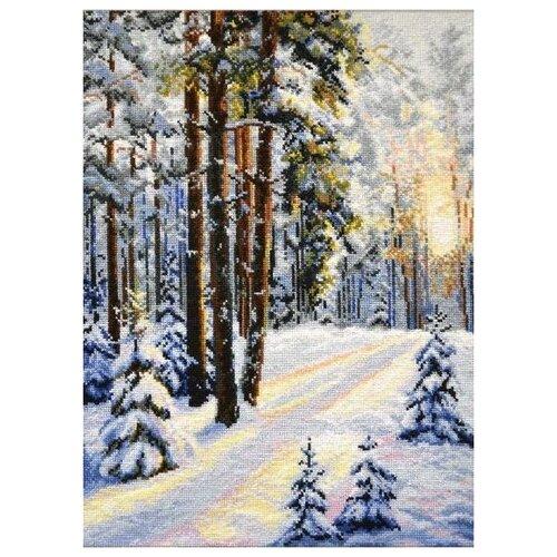 Купить Овен Набор для вышивания Зимняя дорога 30 х 40 см (727), Наборы для вышивания