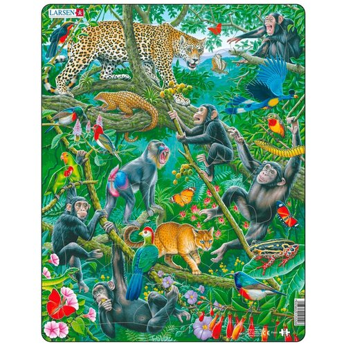 Пазл Larsen Животные Африки (FH41) животные африки