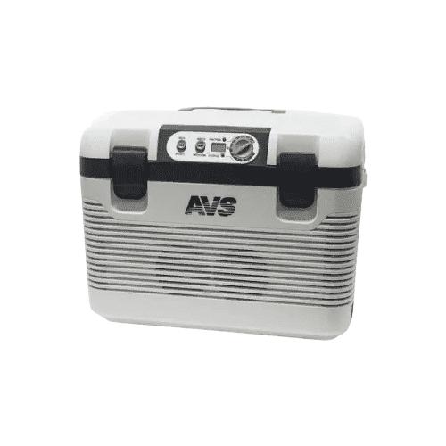 Автомобильный холодильник AVS CC-19WBC белый/серый