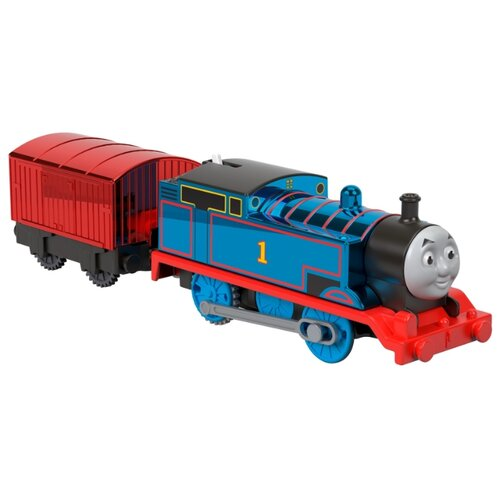 Купить Fisher-Price Поездной состав Праздничный Томас, серия TrackMaster, GLJ24, Наборы, локомотивы, вагоны