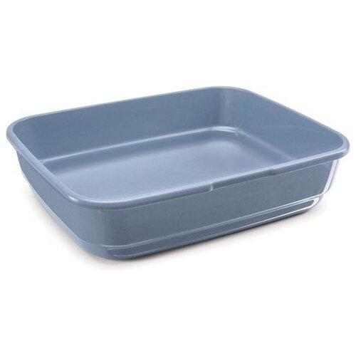 Туалет-лоток для кошек Imac Felix 49.5х39х12 см пепельно-синий 1 шт.
