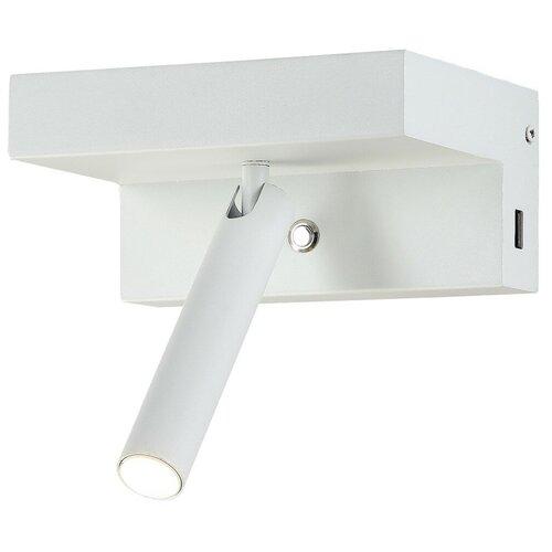 Спот Crystal Lux CLT 228W USB WH, 9 Вт, 1 лампа недорого