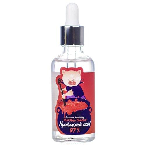 Elizavecca Hell-Pore Control Hyaluronic Acid 97% сыворотка для лица, 50 мл сыворотка с гиалуроновой кислотой elizavecca witch piggy hell pore control hyaluronic acid 97% 50 мл