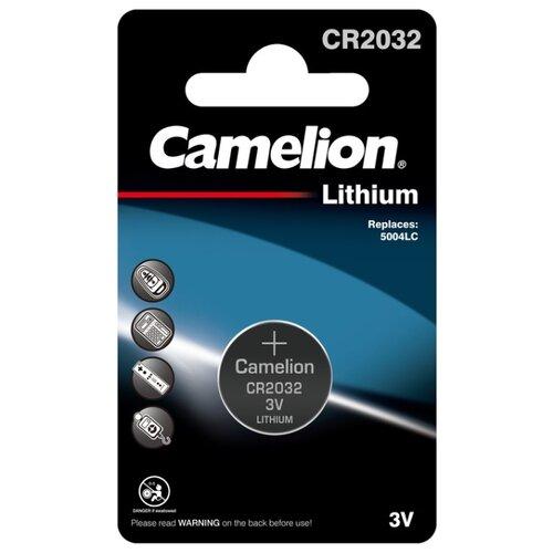 Фото - Батарейка Camelion CR2032, 1 шт. батарейка camelion lr23a 1 шт