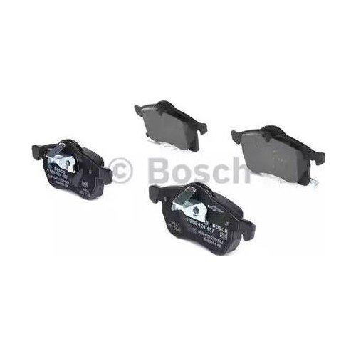 Дисковые тормозные колодки передние Bosch 0986424457 для Opel Astra, Opel Zafira, Chevrolet Astra, Chevrolet Zafira (4 шт.) дисковые тормозные колодки задние bosch 0986424646 для opel astra opel zafira 4 шт