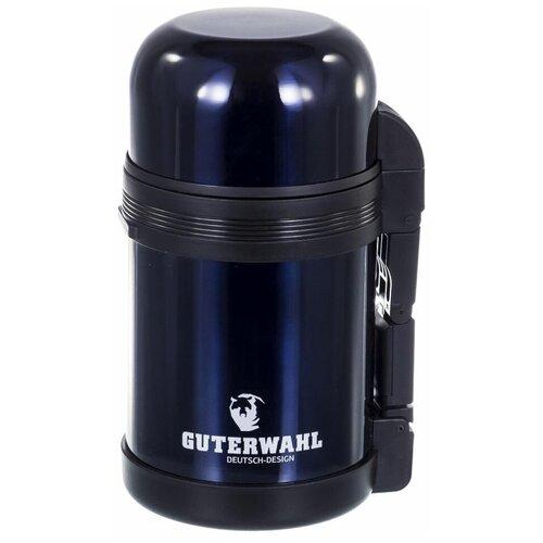 Классический термос Guterwahl Keep warm, 0.8 л темно-синий