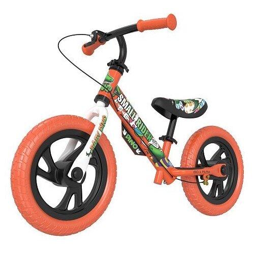 Фото - Беговел Small Rider Motors Cartoons EVA Dino, оранжевый кикборд small rider cosmic zoo scooter оранжевый