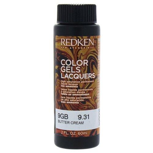 Купить Redken Color Gels Lacquers Перманентный краситель-лак, 9GB, 60 мл