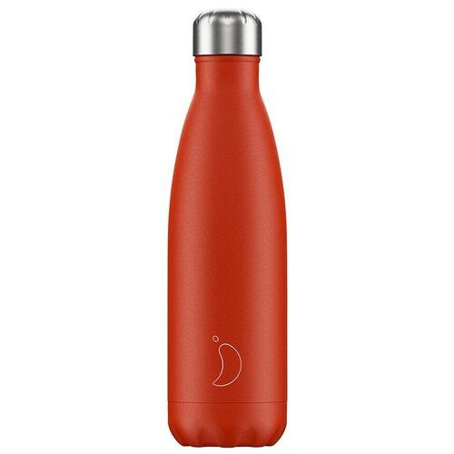 Термобутылка Chilly's Neon, 0.5 л red