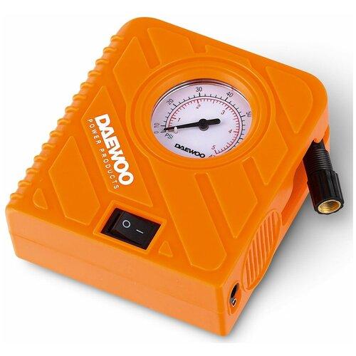 Фото - Автомобильный компрессор Daewoo Power Products DW20L Plus оранжевый пылесос автомобильный daewoo power products davc100 черный оранжевый