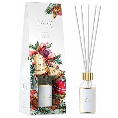 BAGO home диффузор Праздник, 30 мл 1 шт. диффузор bago home мята и базилик 30 мл
