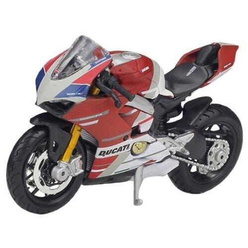 Фото - Мотоцикл Maisto Ducati Panigale V4 S (39300/29) 1:18 красный олег капкаев ducati 1199 panigale модельный ряд