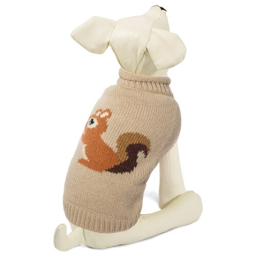Фото - Свитер для собак Triol Белочка XXL бежевый triol triol xxl подгузник для собак весом от 30 кг 10 шт