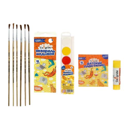 Купить Calligrata Набор для детского творчества №8 (5120746), Наборы для рисования