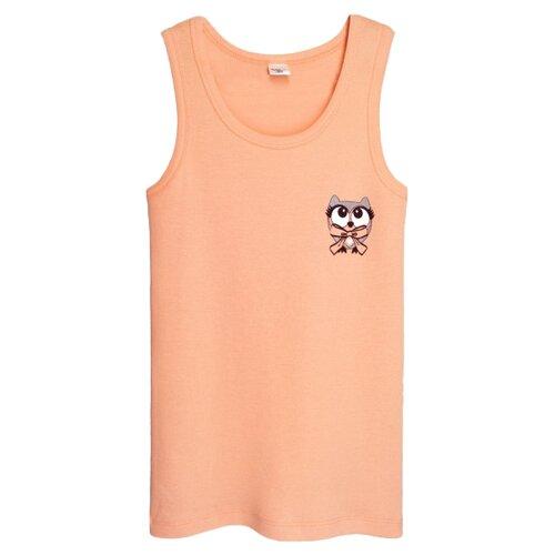 Купить Майка Let's Go размер 152-158, оранжевый, Белье и купальники