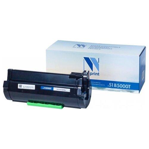 Фото - Картридж NV Print 51B5000T для Lexmark, совместимый nv print nv 51b5000t черный