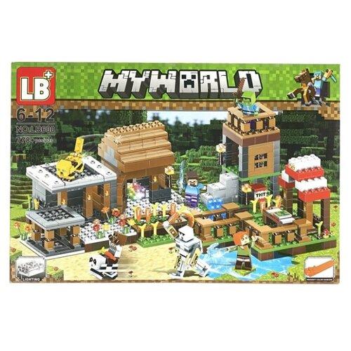 Купить Конструктор LB+ My World LB600 Дом Стива, Конструкторы