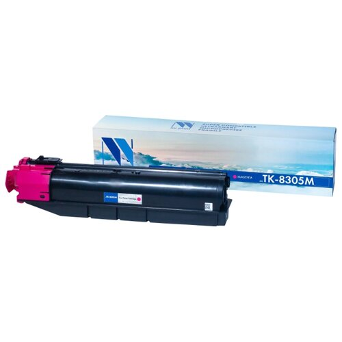 Фото - Картридж NV Print TK-8305 Magenta для Kyocera, совместимый картридж nv print tk 8515 magenta для kyocera совместимый