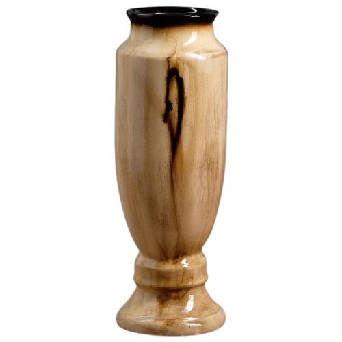 Ваза Керамика ручной работы Вента (1164499), коричневый ваза керамика ручной работы кегля 4341586 коричневый