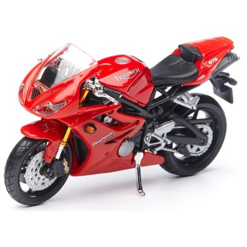 Купить Мотоцикл Maisto Daytona 675 (39300/19) 1:18 красный, Машинки и техника