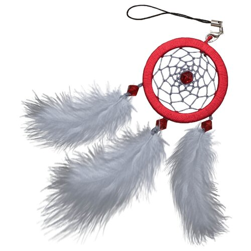 Купить ЛС-09 Набор для творчества Созвездие 'Рубин'(ловец снов) 5х14 см, Топиарии