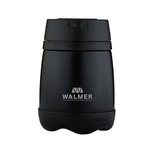 Термос для еды WALMER Meal, 0.5 л черный