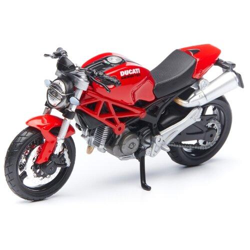 Купить Мотоцикл Maisto Ducati Monster 696 (39300/32) 1:18 красный, Машинки и техника