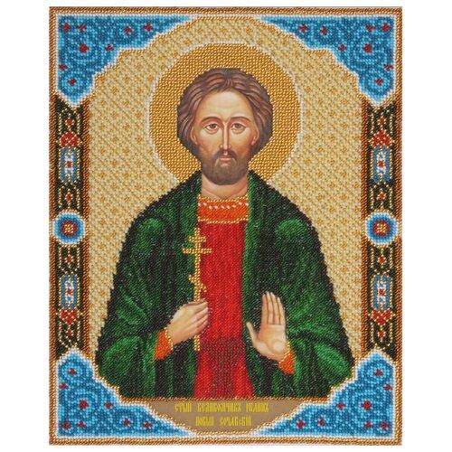Купить PANNA Набор для вышивания бисером Икона Святого Великомученика Иоанна Сочавского 23 x 28.5 см (CM-1312), Наборы для вышивания