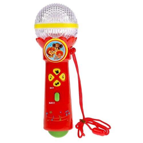 Купить Умка микрофон B1252960-R1-N красный, Детские музыкальные инструменты